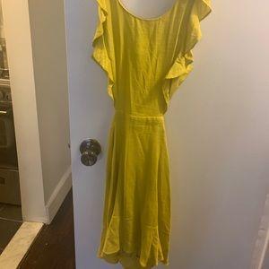 Mustard Hello Molly never worn dress!